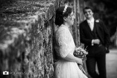 Hochzeitsfotos in Schwarz-Weiß - Sophie und Peter - Roland Sulzer Fotografie - Blog Blog, Salzburg, Wedding Dresses, Design, Getting Married, Monochrome, Bride Dresses, Bridal Gowns, Weeding Dresses