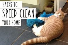 22 Tricks To Help Speed-Clean Your Home - I spy a Clean Mama hack in this post!  | BuzzFeed