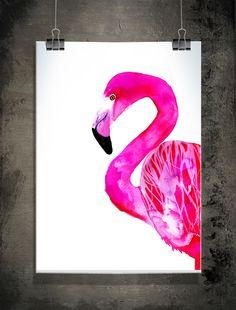 Flamingo, 50x70 cm