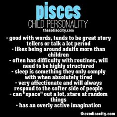 Pisces child personality