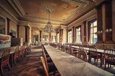 Glorious Times by *illpadrino on deviantART Abandoned Grand Hotel    ©Matthias Haker 2012