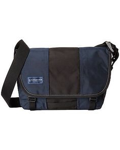 TIMBUK2 Classic Messenger Bag Dusk Blue & Black $99