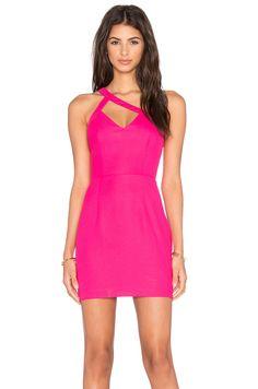 NBD x Naven Twins Dazzle Light Mini Dress in Pink