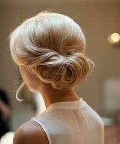 Chic Wedding Updo Hairstyle