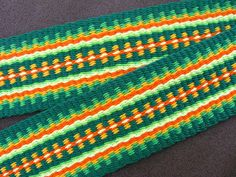 Inkle weaving figuring warp sett