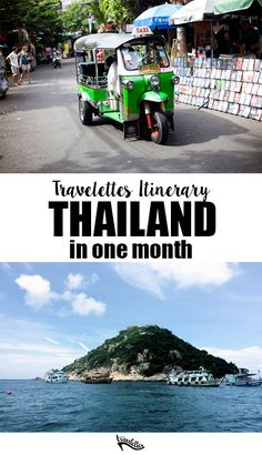 Travelettes Itinerary: How to travel Thailand in One Month