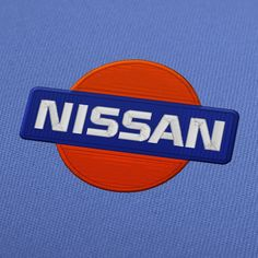 Nissan logo embroidery design for instant download.  #EmbroideryDesign, #EmbroideryDownload, #EmbroideryMachine, #Embroiderylogos, #EmbroideryCarLogo, #EmbroideryMotor, #EmbroideryAutomobile