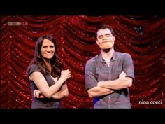 If you don't laugh at Nina Conti's ventriloquist stand up your humorous may be broken. Nina Conti, Human Puppet, Stand Up Comedians, Stand Up Comedy, Funny Pranks, Funny People, Funny Kids, Funny Posts, Videos