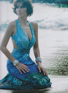 ZUHAIR MURAD gown featured in the latest issue of the spanish magazine HOLA!
