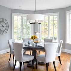 Kitchen Benjamin Moore Coventry Gray Design, Pictures, Remodel, Decor and Ideas. If its a bright space the colour seems to reflect it.