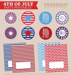 free printable #USA #patriotic #july