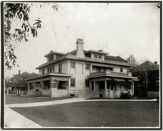 Neil Publius Anderson House 1910s / Gause-Ware Funeral Home    1251 Pennsylvania Ave  Fort Worth TX  Demolished