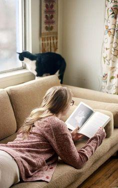 Um Bom Lugar Pra Ler Um Livro...