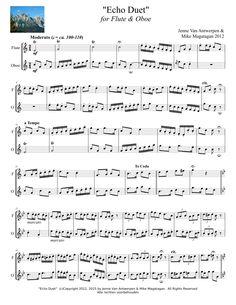 """Echo Duet"" for Flute"