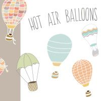 This Hot Air Balloon Vector & Clip Art Images are Just Too Cute! Perfect for Invitations, Web Elements and More! Balloon Illustration, Pencil Illustration, Graphic Illustration, Illustrations, Air Ballon, Hot Air Balloon, Balloon Party, Clip Art, Globes