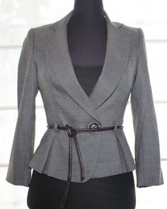 Vintage Gorgeous fitted suit jacket Size 8 by TheBonjEmporium