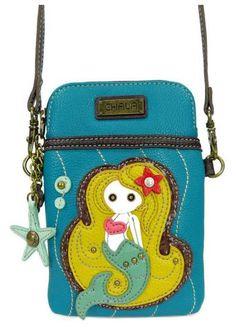 Chala Cell Phone Crossbody - Mermaid. Cell Phone PursePhone CaseLeather  Crossbody BagCrossbody ... 87c4fb010590a
