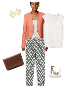 """""""Untitled #215"""" by smag on Polyvore featuring Forever 21, LOFT, J.Crew and Susan Shaw"""