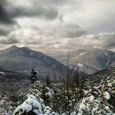 View from Tabletop in the Adirondack Mountains.