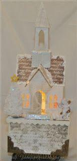 Gunns Papirpyssel: Kirke m/lys