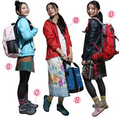 example of yama girl fashion