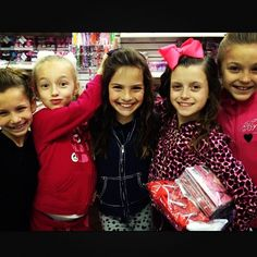 Jenna, Jaycee, Bostyn, Dylynn, and Brynn.