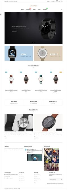 Ap Consion is a wonderful responsive @Shopify theme for multipurpose #watch shop #eCommerce websites with 5 unique homepage layouts download now➩ https://themeforest.net/item/ap-conosin-drag-and-drop-shopify-theme/19241049?ref=Datasata
