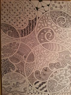 #Zentangle Inspired