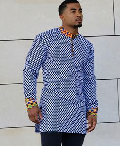 Shop African clothing from our store at the best price. Check out our latest collection of African clothing now! African Shirts For Men, African Dresses Men, African Attire For Men, African Clothing For Men, African Women, Latest African Wear For Men, Latest African Men Fashion, Dashiki Shirt