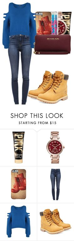 """""""Random :D"""" by marvelfaith ❤ liked on Polyvore featuring Michael Kors, J Brand, WearAll, Timberland and MICHAEL Michael Kors"""