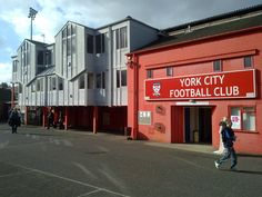 Bootham Crescent - External - York City FC