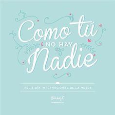 Feliz Día Internacional de la Mujer | by Mr. Wonderful*
