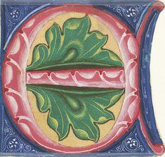 Choir book, Latin, Initial E, Italy, 1499
