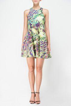 a4eb70b1f Beach Party Dress – FabsZeal Sleeveless Tropical Printed Dress XS