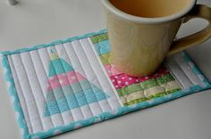 Ms Christmas Mug Rug Patterns