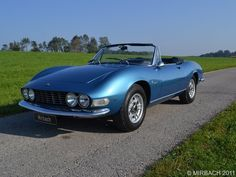 Classic Italian Cars For Sale » Blog Archive » 1967 Fiat Dino Spider