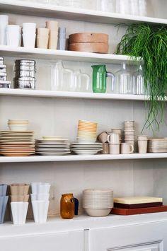 Hullaannu ja hurmaannu: Hay Kitchen Market Kööpenhaminassa // 3daysofdesign Decor, Hays, Shelves, Floating Shelves, Home Decor, Kitchen, Mood Board