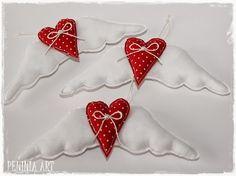 Peninia Art ...: ali di San Valentino con cuori ...