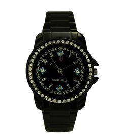 Svviss Bells Amazing Black Studded Watch in India. Deals and discount coupons for Branded watches. Stainless Steel Strap dimension in MM : 18 MM Gender : Women Display : Analog Dial Shape : Round Dial Dimension in MM : 31 MM Wearability : Party-Wedding Warranty : 1 Year