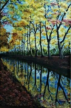 Spring of Colors, Oil Painting on Canvas