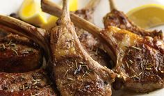 Steven Raichlen's grilled lamb is seasoned with Herbes de Provence, a mixture of rosemary, thyme, marjoram, savory, basil, bay leaf, fennel, and lavender.