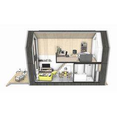 Heijmans ONE, het verplaatsbare woonhuis voor eenpersoons huishoudens   de Houtprijs