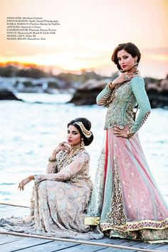 beautiful #desi fashion by allechant.#couture ~