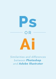 Photoshop or Illustrator? It's a common question for business owners and bloggers in regard to creating images and designing promotional materials. | ElleandCompanyDesign.com