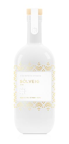 Very pretty Solveig #gin #packaging from Far North Spirits PD