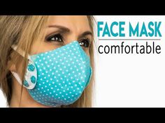 Sewing Lessons, Sewing Hacks, Sewing Tutorials, Sewing Projects, Easy Face Masks, Homemade Face Masks, Diy Face Mask, Mouth Mask Design, Diy Mask