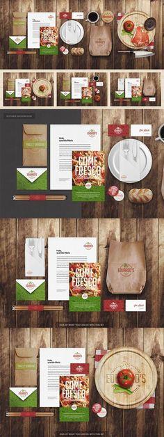 Food infographic Food infographic CreativeMarket Restaurant / Food Identity Mock-up Free Speci