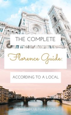 The Complete Florence Guide: According to a Local - Florence, Italy is full of things to do, foods to eat, wines to taste, and gelato to devour! Here is a local's take on all the best things to do in Florence from the best place for coffee in this city of culture to the best Florentine dishes to try... Happy travels & buon viaggio!