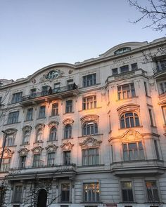COLORS OF VIENNA  #vienna #viennalove #austriandesign Vienna, Clouds, Mansions, House Styles, Outdoor, Color, Design, Home Decor, Outdoors