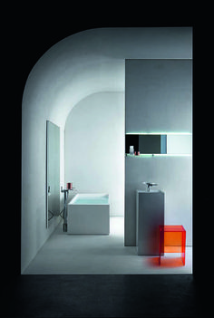 Kartell by Laufen - łazienka Interior Exterior, Bathroom Interior Design, Interior Architecture, Laufen Bathroom, Bathroom Spa, Washroom, Bad Inspiration, Bathroom Inspiration, Best Bathroom Colors